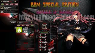 "Theme Gamers BBM Mod 2.9.0.51 Apk ""Special Edition"""