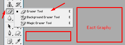 Removing the Erase Tool in Photoshop