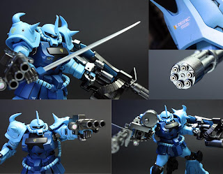 HG 1/144 MS-07B-3 Gouf Custom