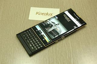 Berlapis Emas, Blackberry Priv Dibanderol Rp 18 Juta