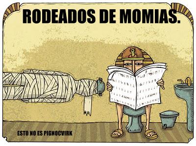 Rodeado(s) de Momias