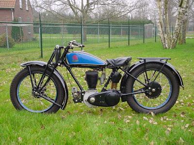1928 Triumph NSD, 550 cc