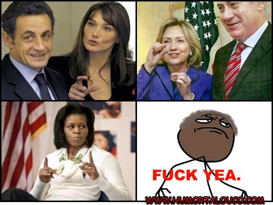 Tirinha - Obama Wins
