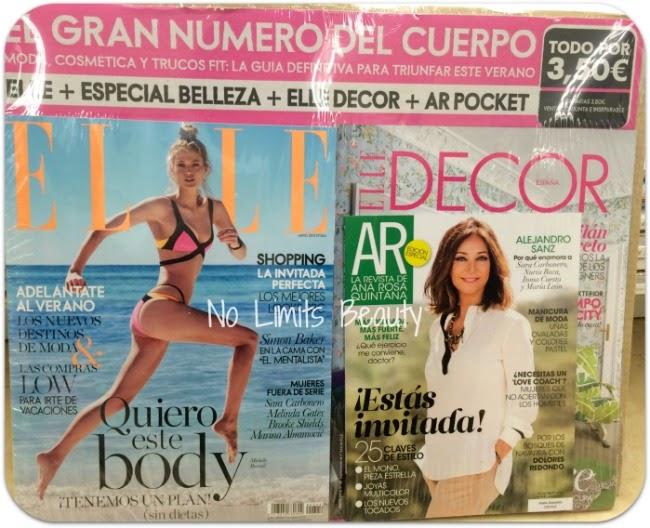 Regalos revistas mayo 2015: Elle