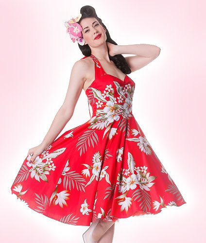 Alika swingdress by Hell Bunny
