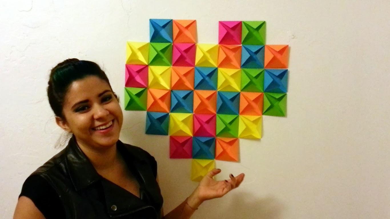 Coraz n de papel manualidades para regalar un mundo de - Manualidades de papel para decorar ...
