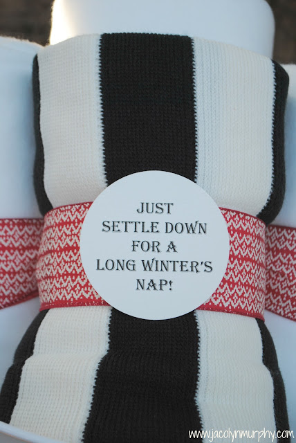 Winter Holiday Blanket Gift - www.jacolynmurphy.com