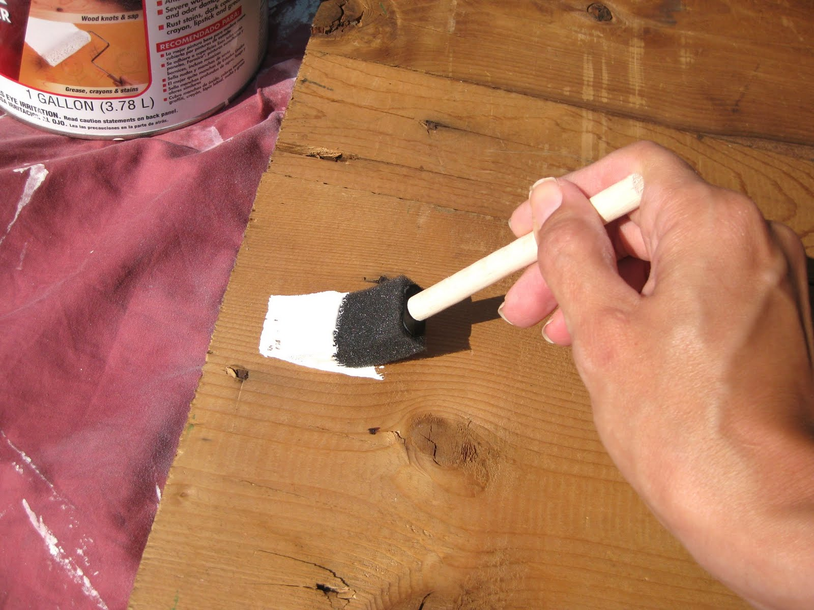 My pink life sign tutorial how to make a wood sign for Aimee weaver blogspot