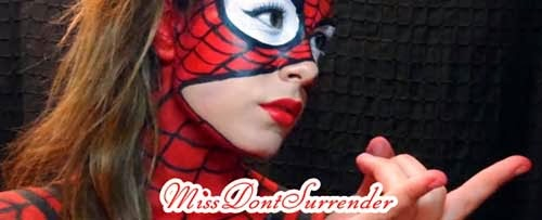 Maquillaje de spider woman sexy