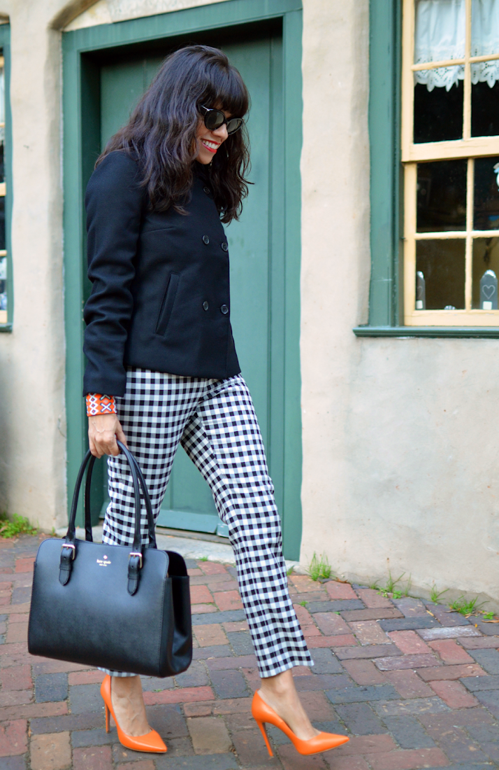 Gingham Pants Outfit