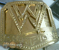 New WWE Championship Belt