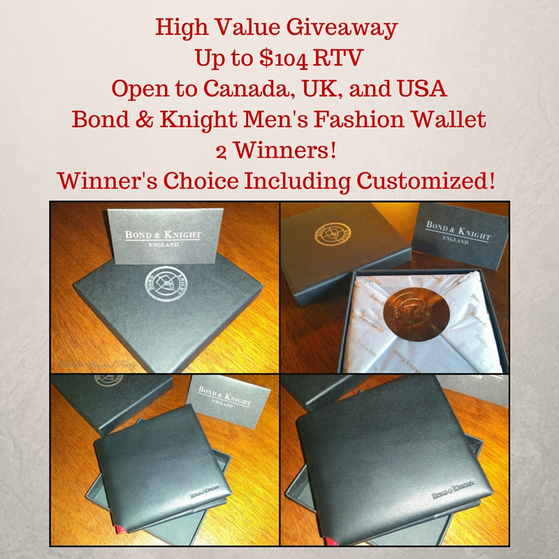 High Value Bond & Knight Giveaway