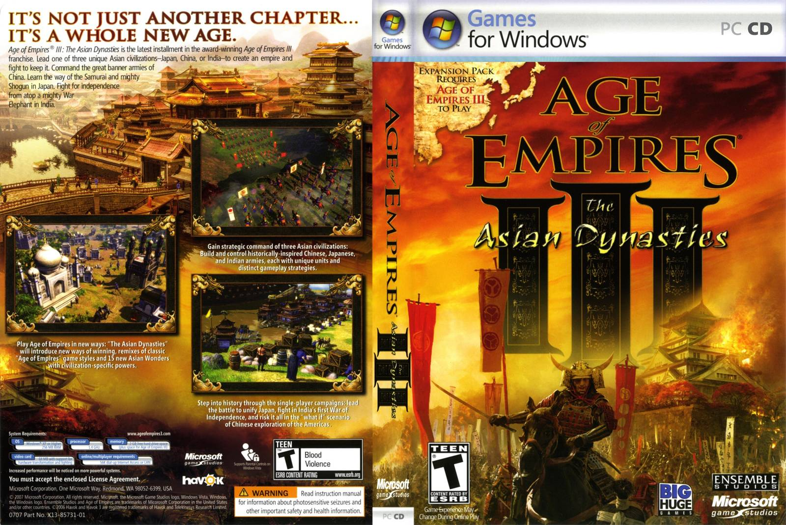 age of empires free pc download