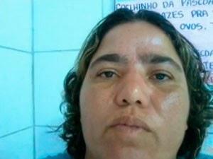Professora foi assassinada em Itabela, na Bahia. (Foto: Reprodução/TV Bahia)