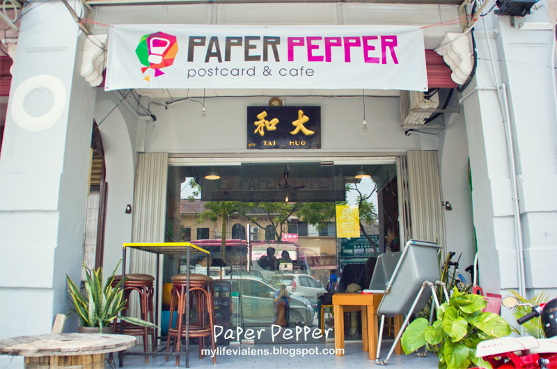 Paper Pepper Postcard & Cafe