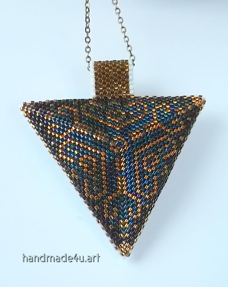 Dwukolorowy trójkąt dwustronny