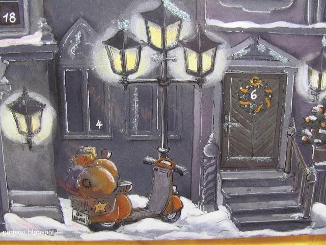 joulukalenteri 2015 yksityiskohta