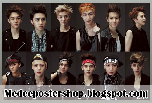 EXO Poster 2013