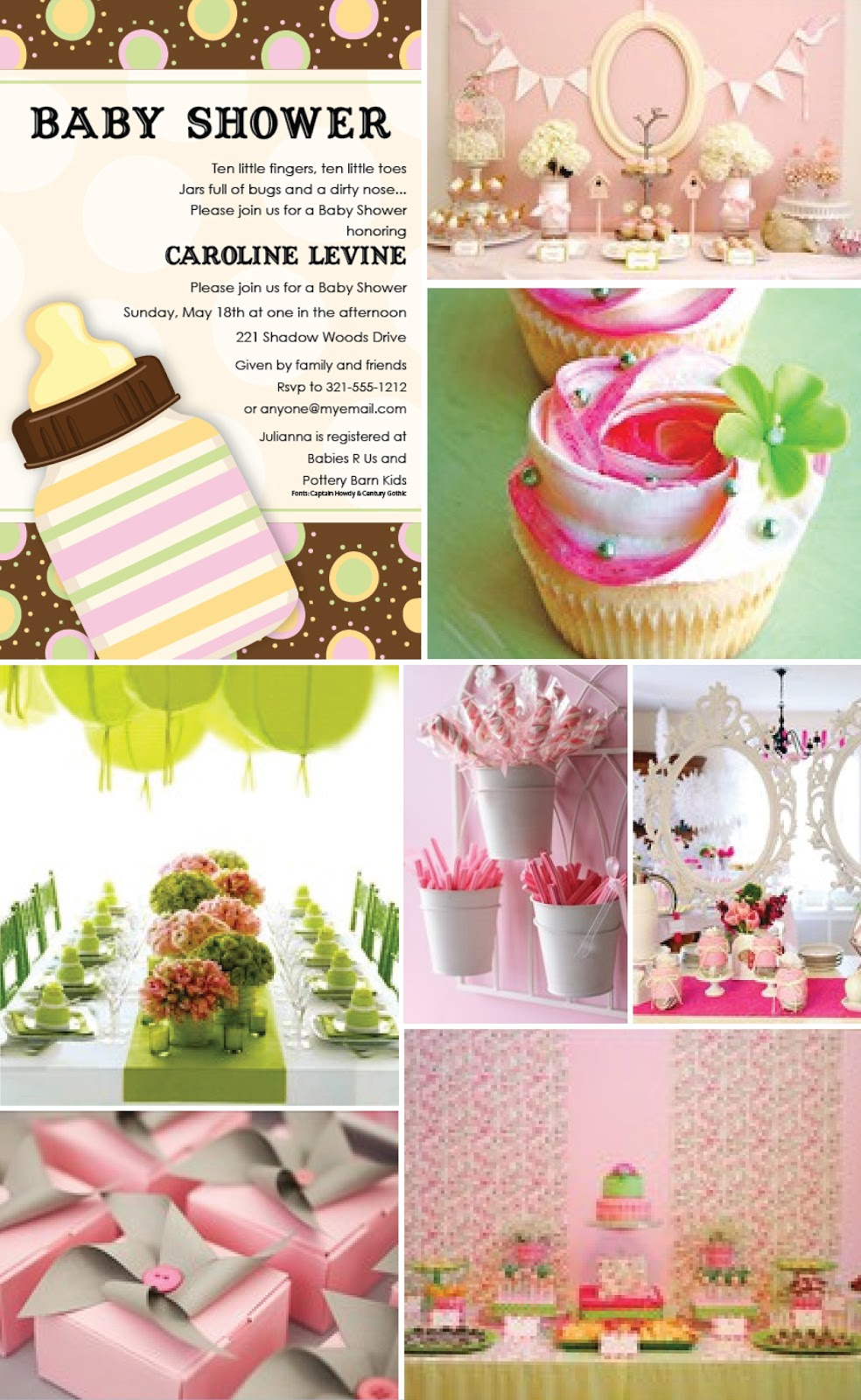 Decorating Ideas For Baby Shower Girl