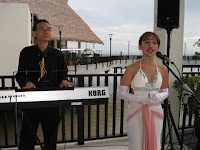 Jazz Singer and keyboardist performing live during the summit