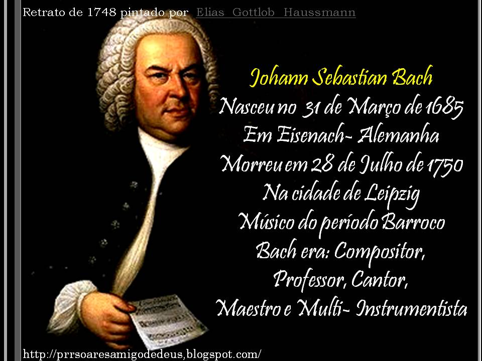 a biography of johann sebastian bach greatest western musical history composer