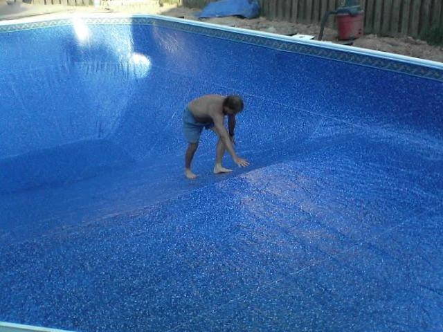 Self made pool, diy pool, cool, pictures
