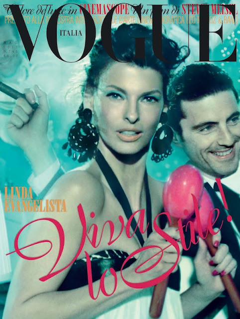 Vogue Italia May 2012 : Linda Evangelista by Steven Meisel