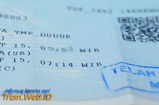 Mulai 1 Desember 2015 Tiket Penataran Dhoho KRD Bisa Dipesan