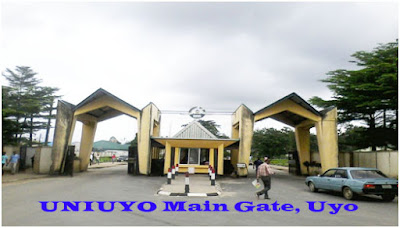 UNIUYO Direct Entry Admission Form