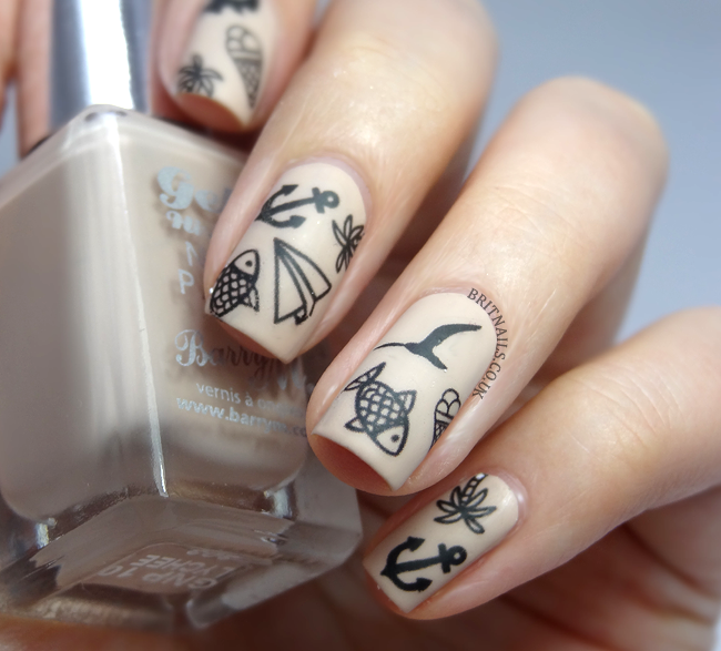 Tattoo nail art brit nails this is so cute i could die going to keep it on for a while prinsesfo Image collections