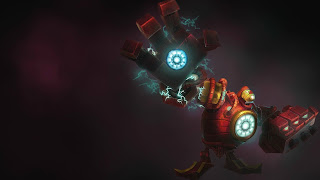 Chinese Iron Man Blitzcrank Concept Art