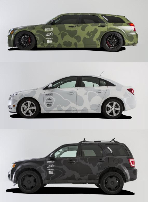 DISTINCT LIFE x AGI CUSTOM CAR WRAPS | DISTINCT LIFE X AGI: Vehicle Wraps - The Distinct Life Custom Car Wrap collection.