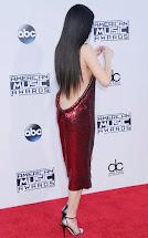 Selena Gomez American Music Awards Red Carpet