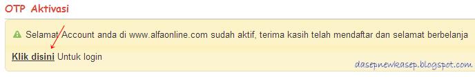 Alfaonline.com : Promo Heboh Jual Barang Hanya Rp 1,-