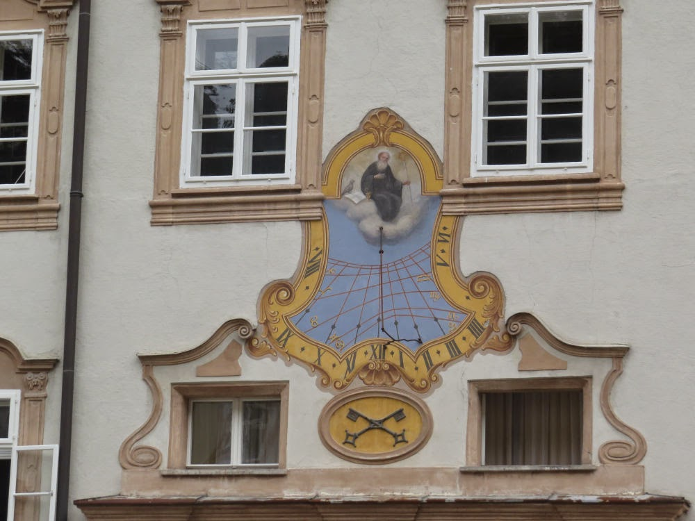 Sundial in Salzburg
