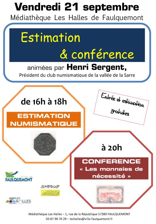 Numismatique  -  Faulquemont