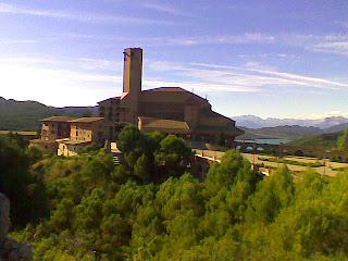 Santuario de Torreciudad (Somontano, Huesca, Aragón, España)
