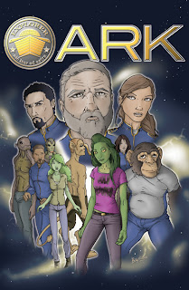 Ark Graphic Novel Cover