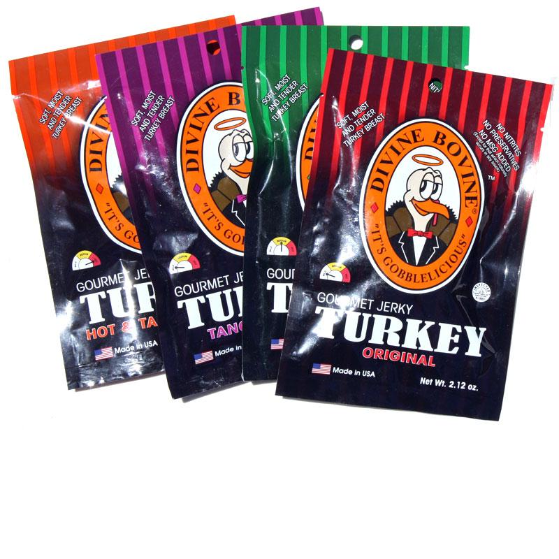 divine bovine turkey jerky