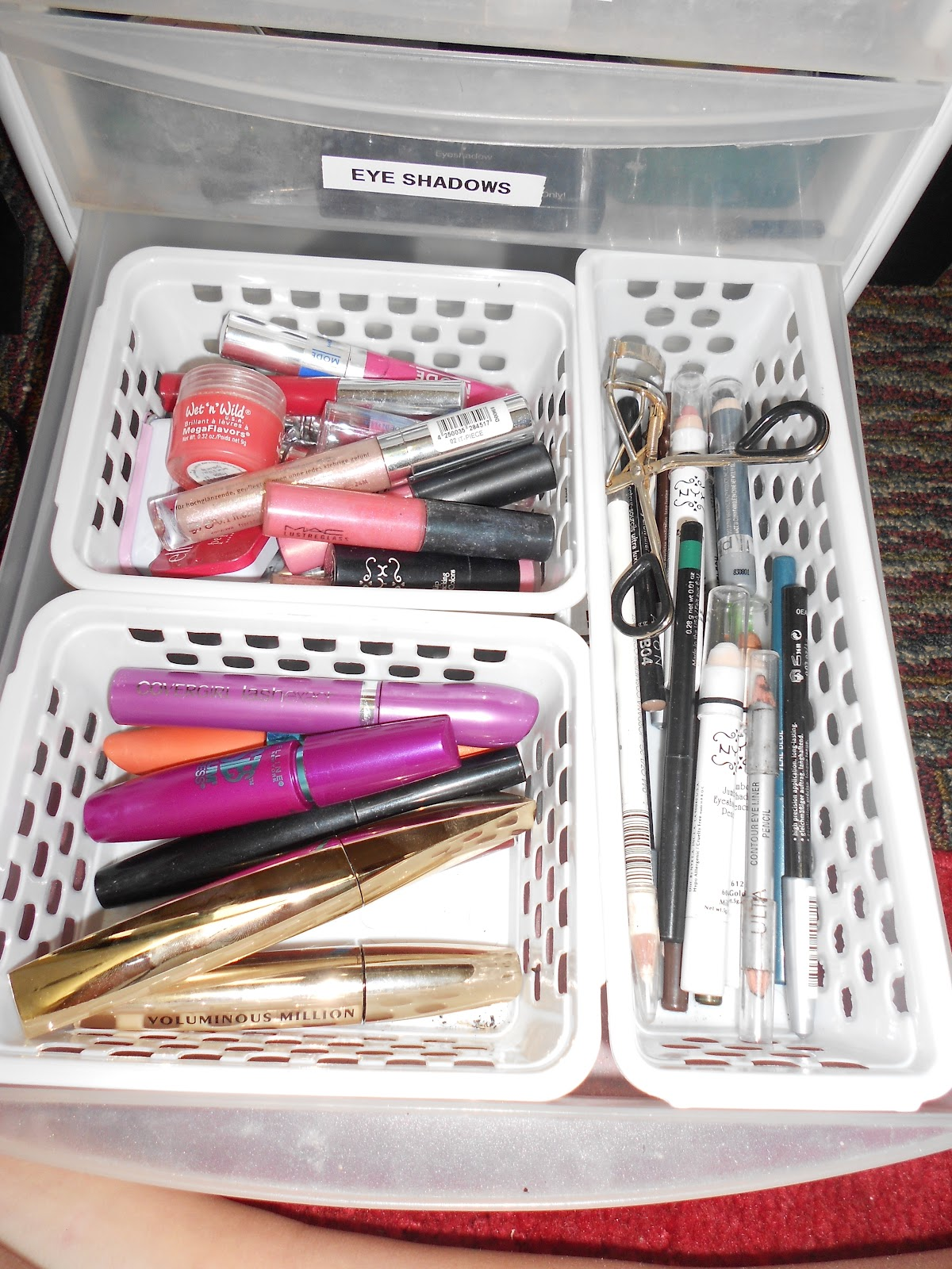 makeup organizer drawers walmart. how i organize my makeup-dorm room edition! makeup organizer drawers walmart t