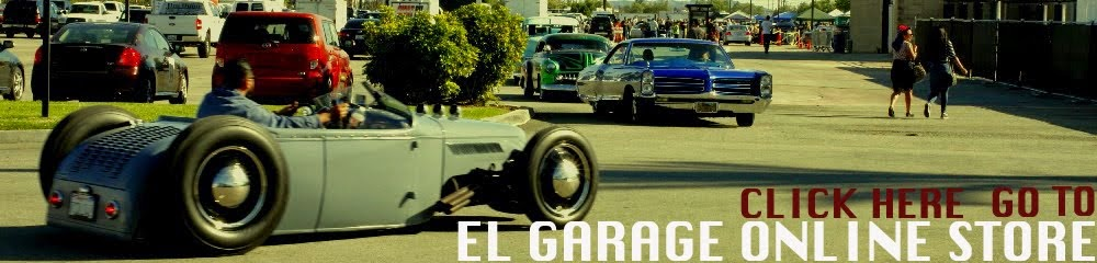 GO TO EL GARAGE ONLINE STORE!!