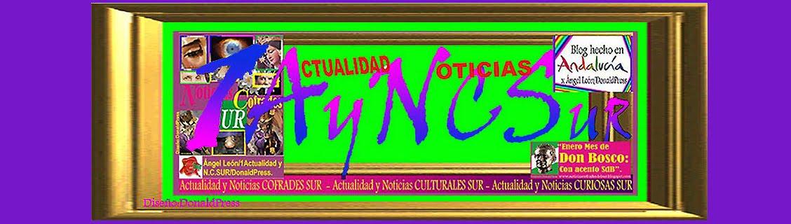 """""""1Actualidad y Noticias: COFRADES,  Culturales y Curiosas del SUR"""""""
