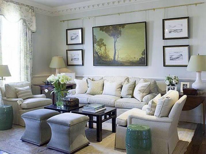 Sofa chair chairs living room arrangement art focal point lighting chandelier grouping frog for 4 chair living room arrangement