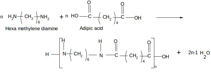 Adipoyl chloride nylon 6