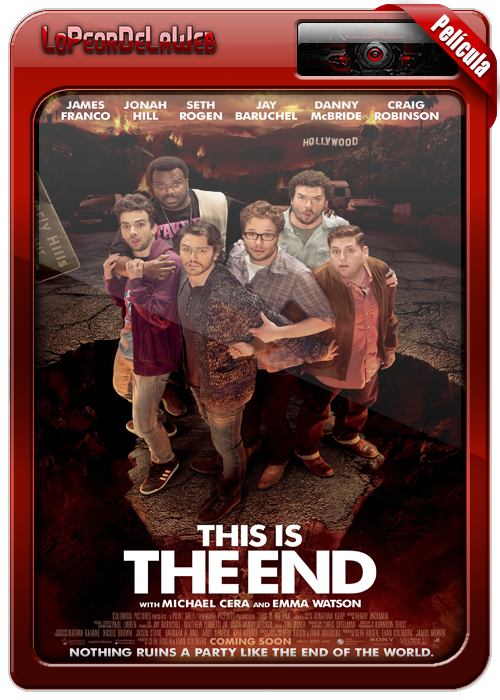 This Is the End (Este Es El Fin) (2013) [BrRip| Dual |Mega]
