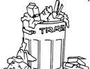 Truyện cười: Đổ rác