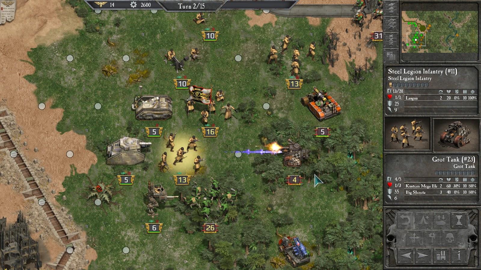 Warhammer 40,000: Armageddon Slitherine