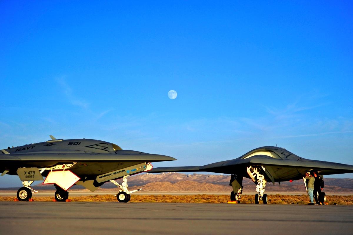 X-47B Jet Fighter UAV Wallpaper 3