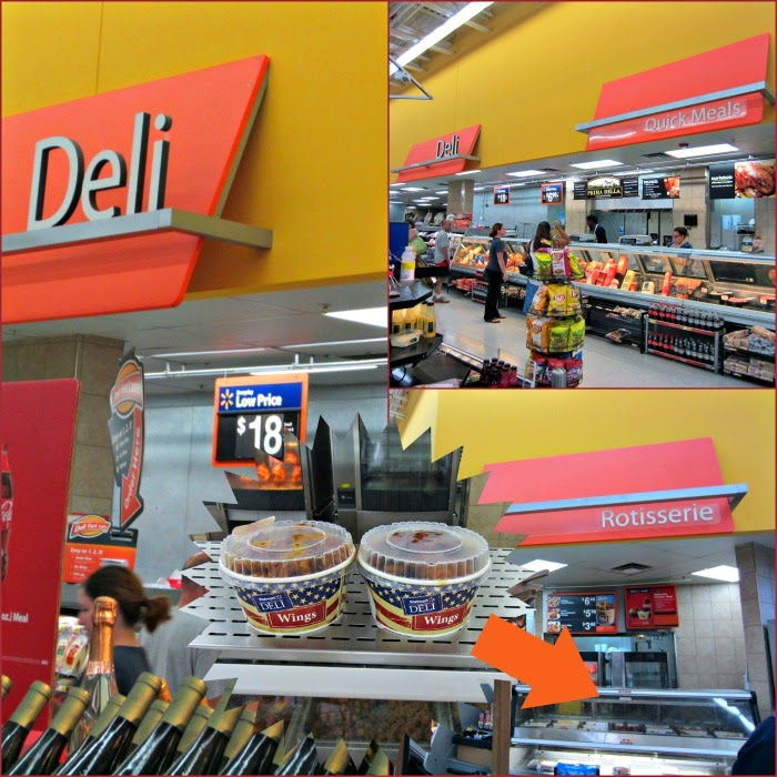 Ad: Cool Cucumber Ranch Dip and Deli Wings: in store location #GameTimeHeroes #CollectiveBias #ad