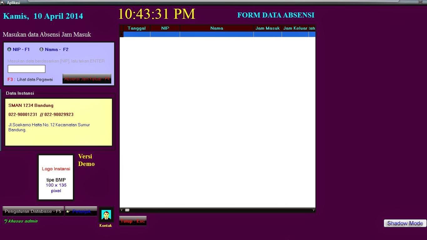 free download software administrasi toko